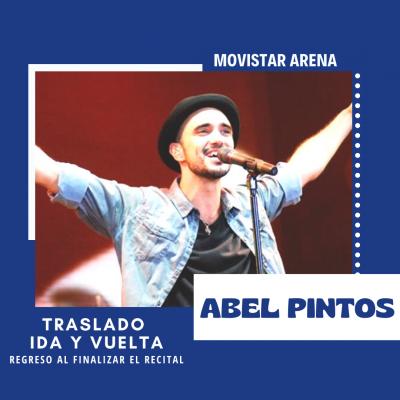 Abel Pintos - Movistar Arena.