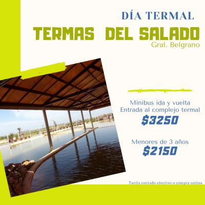 Termas Del Salado - General Belgrano.