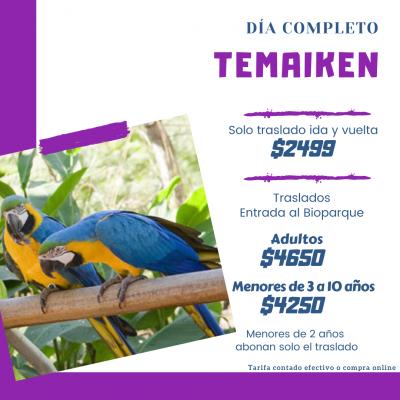 Excursion De Dia Completo - Temaiken.